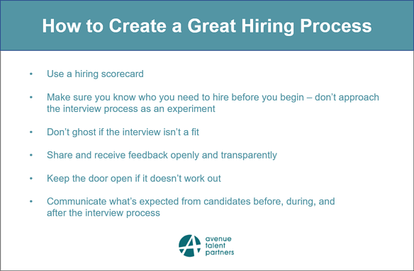 How to Create a Great Hiring Process 5